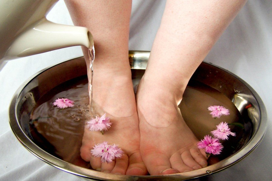 Ванночки для ног при тромбофлебите