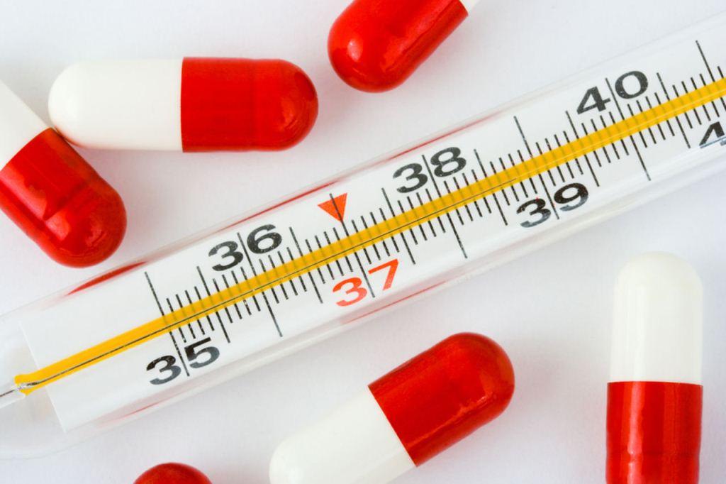 Увеличение температуры - симптом тромбоза