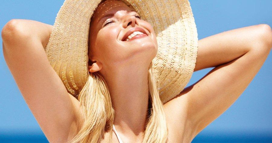 Причина развития купероза - воздействие солнечных лучей