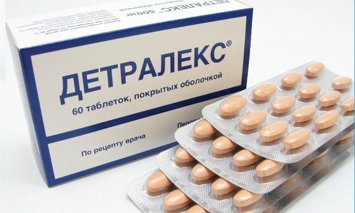 Детралекс - венотонизирующее средство