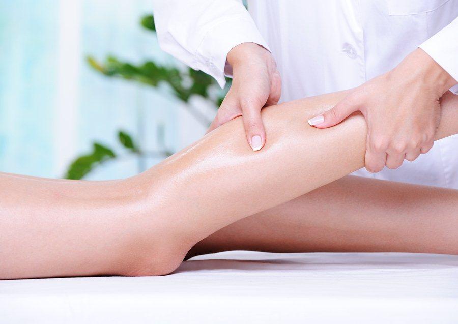 Лечебный массаж нижних конечностей