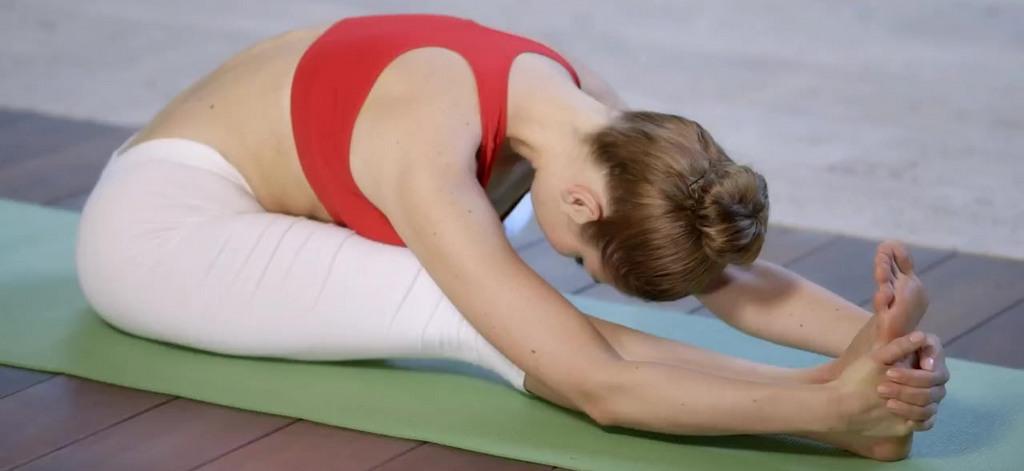 Поза йоги для лечения варикоза
