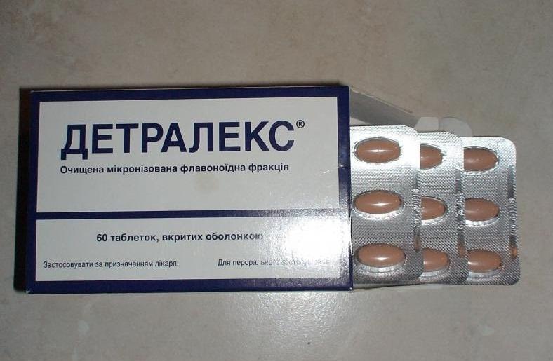 Как правильно принимать Детралекс при варикозе?