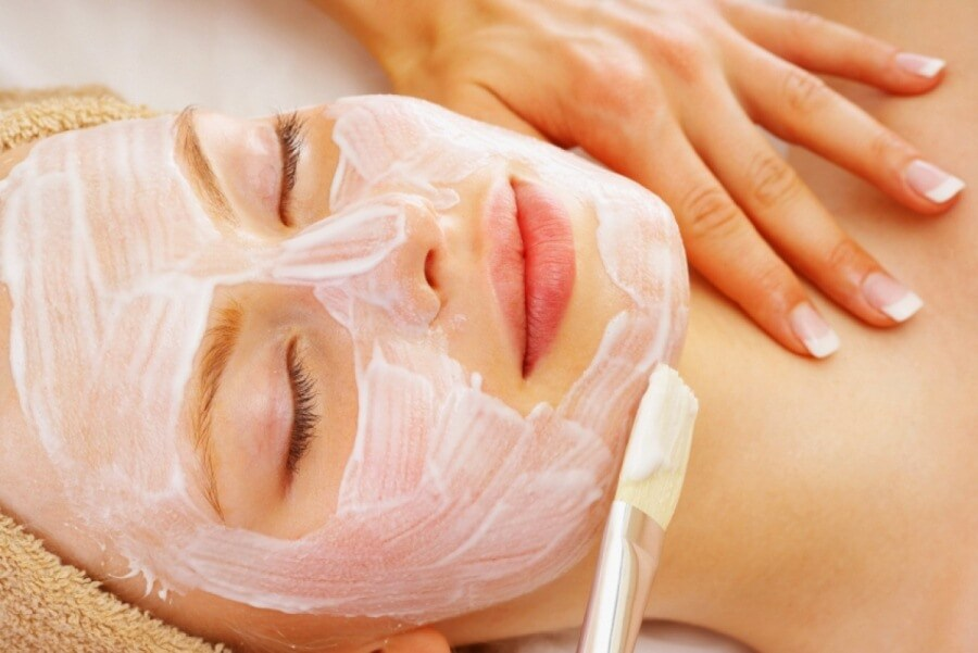 Пилинг при куперозе кожи лица