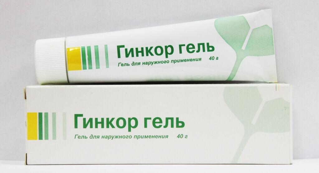 Гинкор гель для наружного применения 40 г