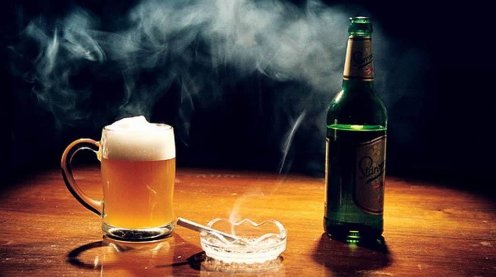 Алкоголь и курение становиться причиной сложных заболеваний