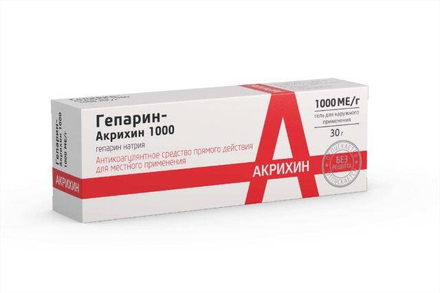 Гепарин - антикоагулянт (средство, тормозящее свертывание крови) прямого действия