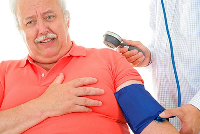 Аритмическая форма — сопровождается одышкой, сердечной астмой, отеком легкого