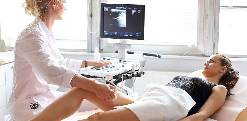 Диагностика у врача флеболога