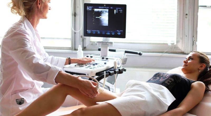 На приеме у врача-флеболога