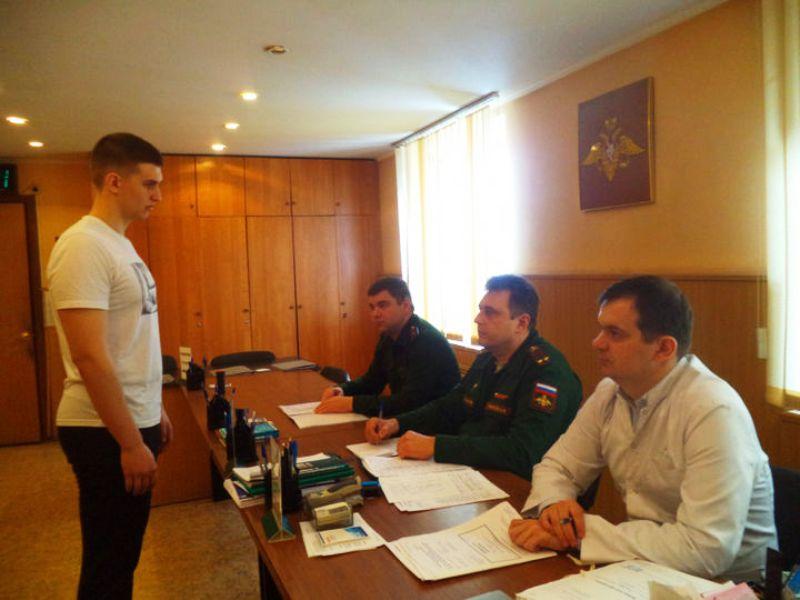 Комиссия в военкомате