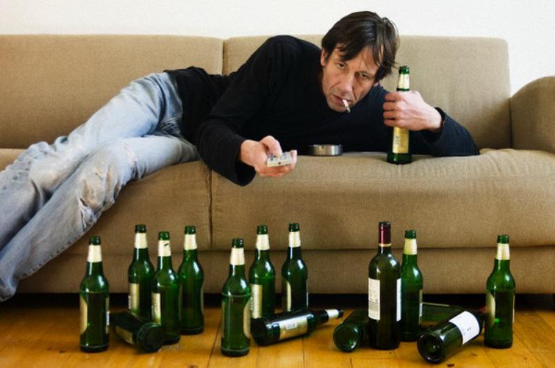 Злоупотребление спиртным и курение