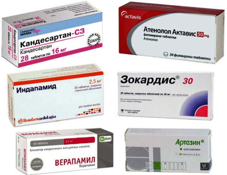 Препараты нормализующие давление
