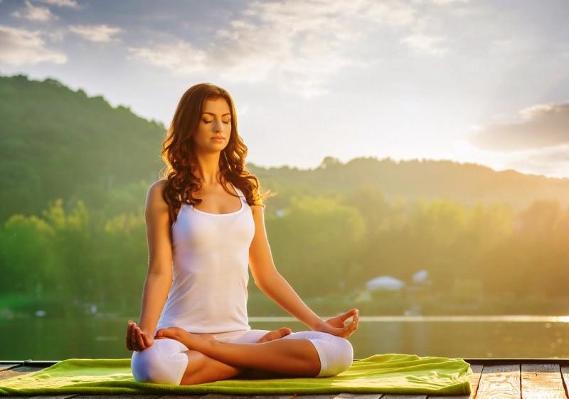 Медитация при занятиях йогой