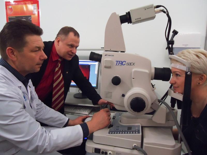 Ангиография сетчатки глаза