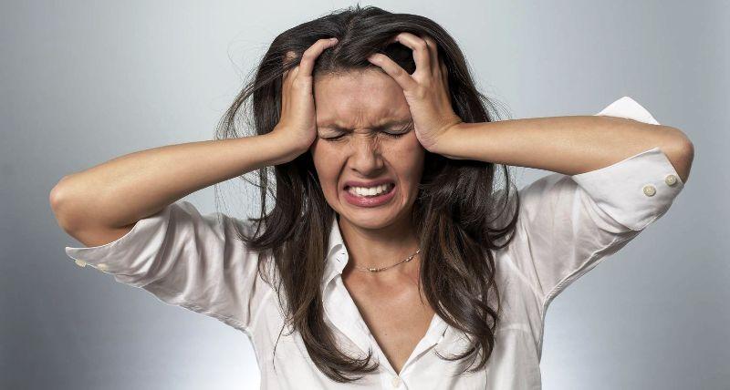 Состояние сильного стресса