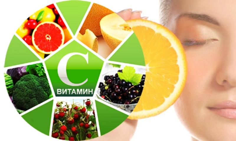 Продукты богатые на витамин С