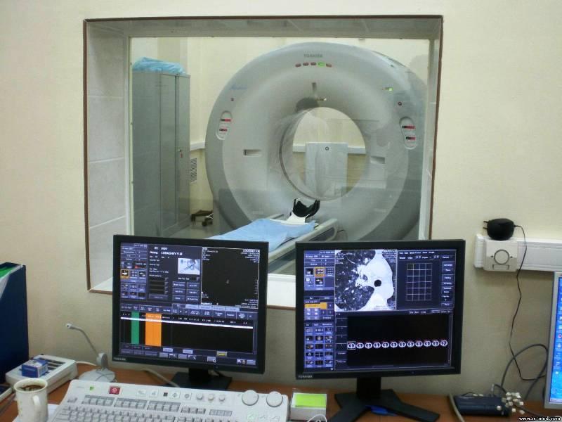 Оборудование для КТ-сканирования