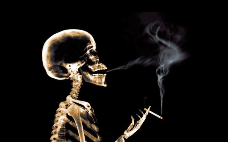 Курение убивает!