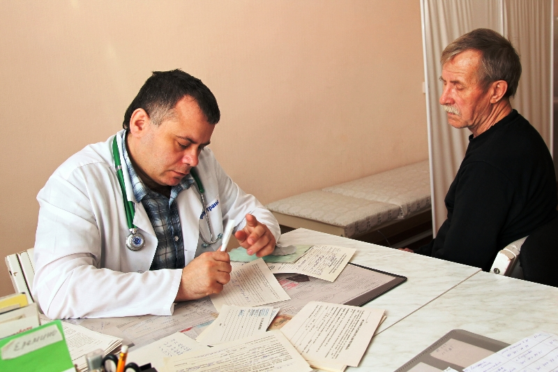 Консультация с лечащим доктором