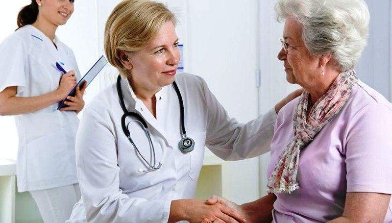 Консультация с доктором