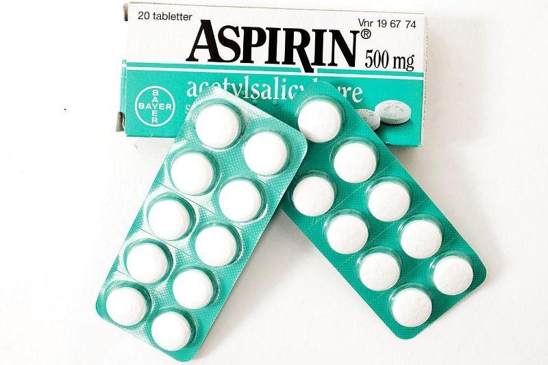 Аспирин в таблетированной форме