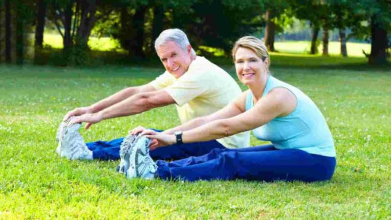 Легкая физическая активность на свежем воздухе