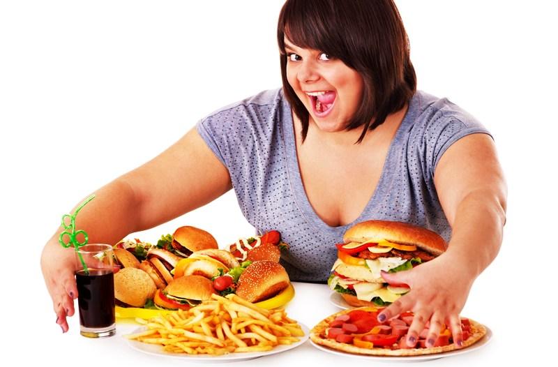 Лишний вес и неправильное питание