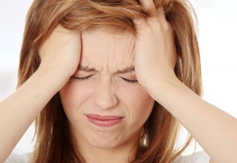 Резкая головная боль