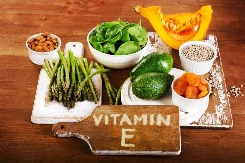 Продукты с витамином Е