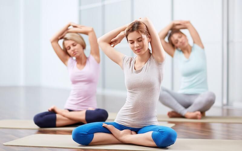 Йога и хорошее здоровье