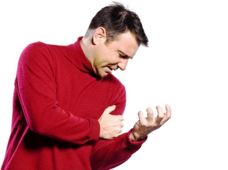 Покалывание или неприятные ощущения в руке или плече