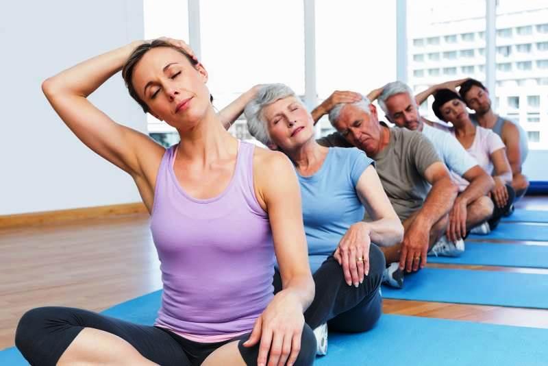 Йога для больных ВСД