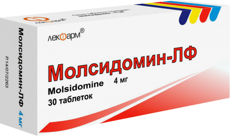 Препарат Молсидомин в таблетках