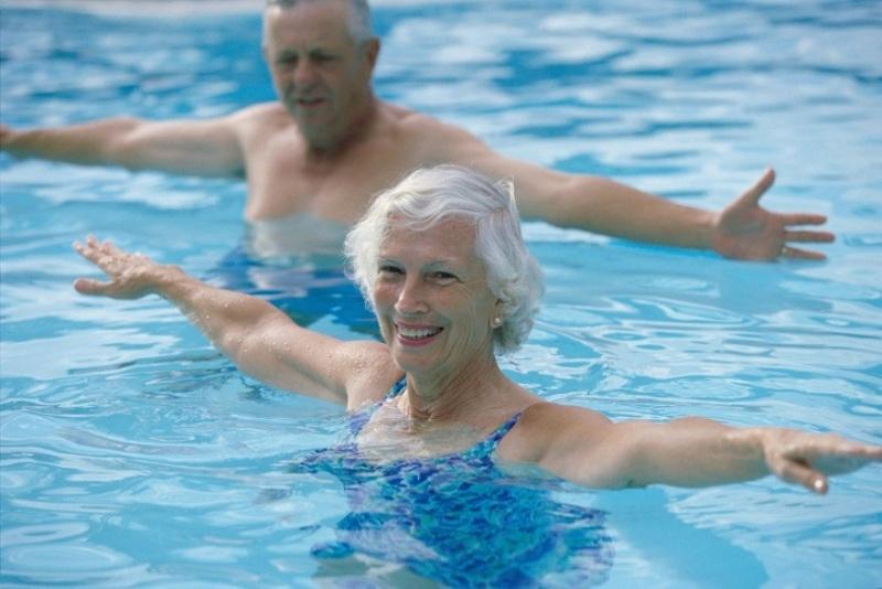 Плавание полезно в любом возрасте