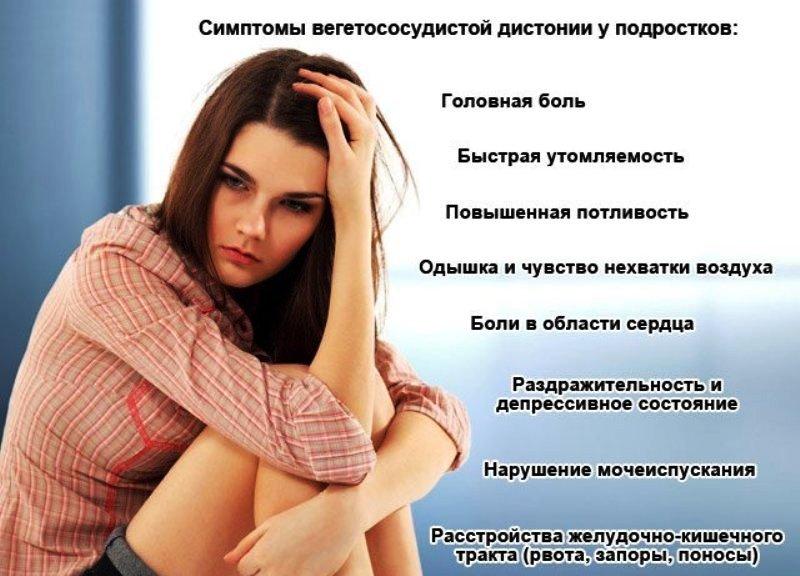 ВСД у подростков