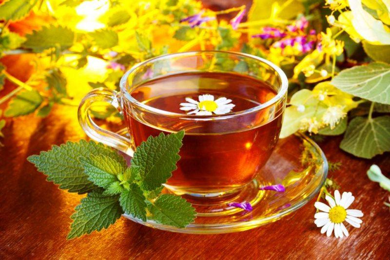 Травяной чай для снятия стресса