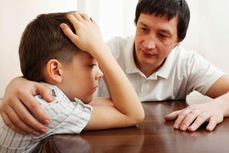 Душевный разговор отца с сыном
